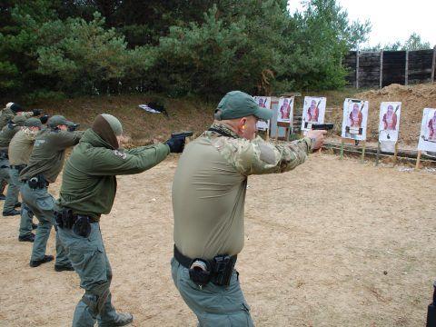 Szkolenie taktyczne - strzelectwo bojowe