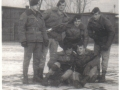 Por. Nalepa ze swoją grupa specjalną -Bydgoszcz lata 70-te.